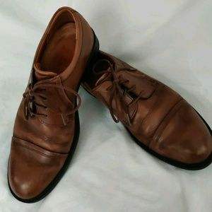 ECCO DRESS OXFORDS SIZE 9 FREE SHIPPING